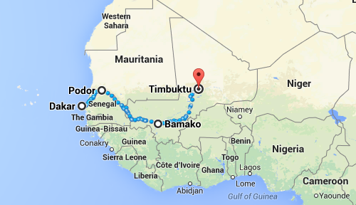 Journeys In World Music Dakar To Timbuktu The Glossa